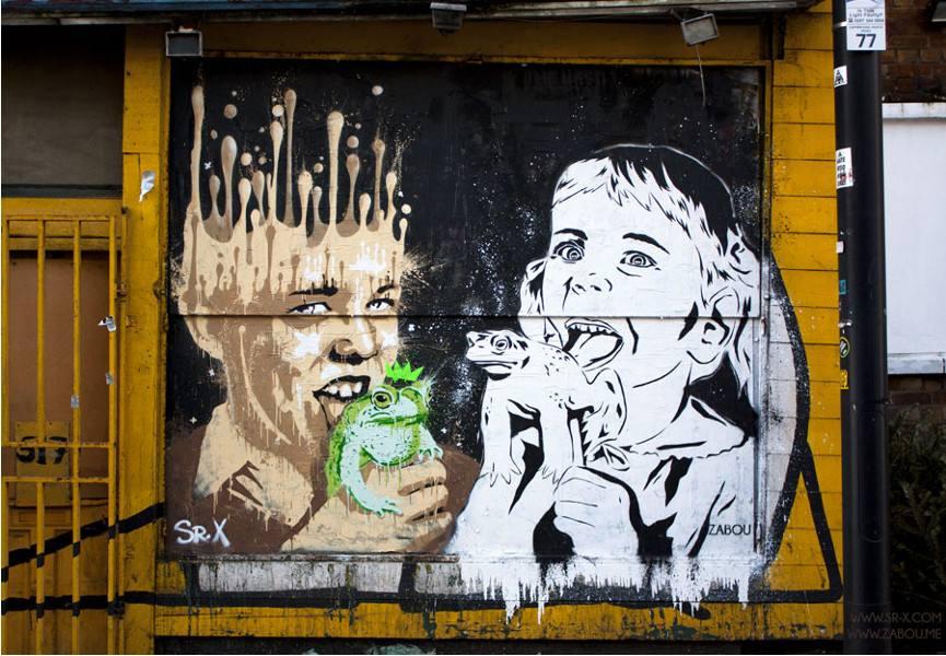 Zabou x Sr.X - Suck On That Charming Prince, 2014, London, UK, photo credits - Zabou